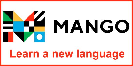 Mango: learn a new language